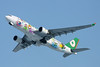 "B-16309 Airbus A330-203 c/n 661 Sapporo-New Chitose/RJCC/CTS 09-03-13 ""Hello Kitty"""