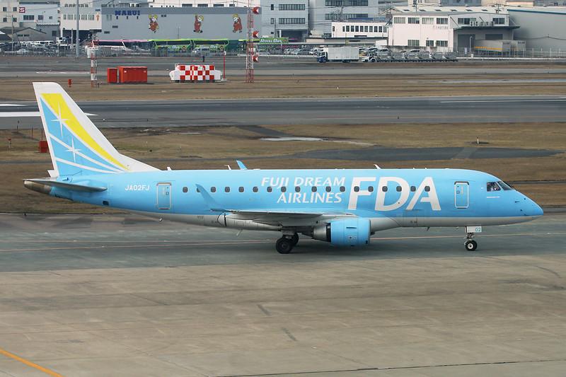JA02FJ Embraer Emb-170-100LR c/n 17000289 Fukuoka/RJFF/FUK 11-01-14