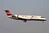 "JA03RJ Canadair RegionalJet 20)ER ""Ibex Airlines"" c/n 7624 Fukuoka/RJFF/FUK 11-01-14 ""Gambarou! Tohoku"""