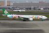 "B-16332 Airbus A330-302 c/n 1268 Tokyo-Haneda/RJTT/HND 20-10-17 ""Hello Kitty Sanrio Characters"""
