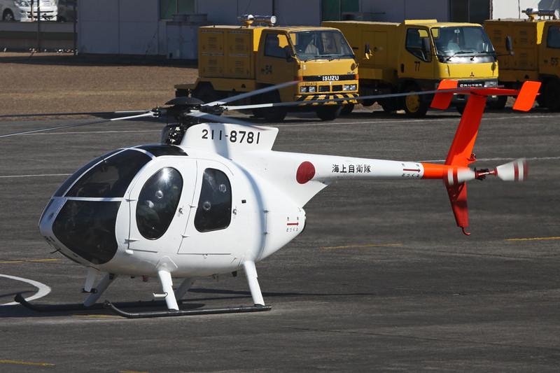 """8781 Kawasaki OH-6DA """"JMSDF"""" c/n 0565E Kanoya/RJFY 16-01-14"""