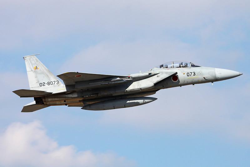 "02-8073 McDonnell-Douglas F-15DJ Eagle ""JASDF"" c/n unknown Nyutabaru/RJFN 15-01-14 ""23rd Hikotai"""