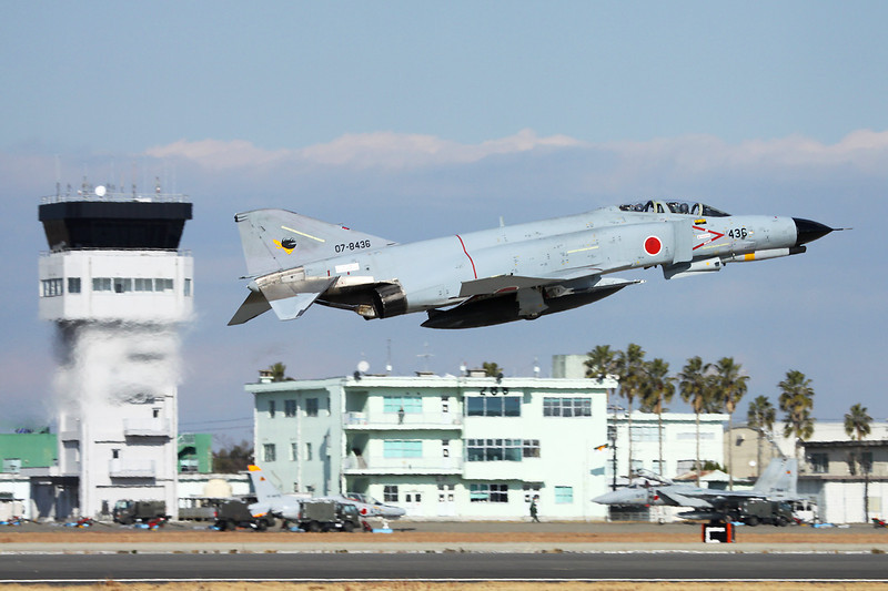"07-8436 Mitsubishi F-4EJ Phantom II ""JASDF"" c/n M11-123 Nyutabaru/RJFN 15-01-14 ""301st Hikotai"""