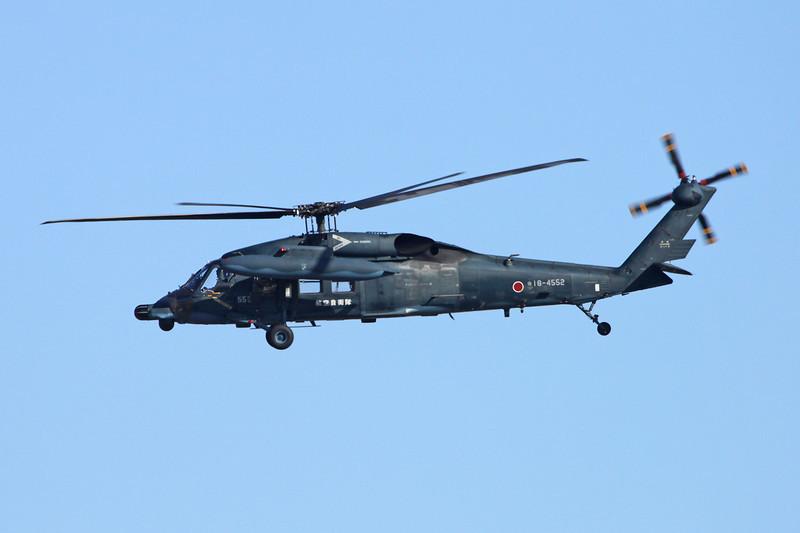 """18-4552 Mitsubishi UH-60J Blackhawk """"JASDF"""" c/n 2001 Nyutabaru/RJFN 15-01-14 """"Nyutabaru Kyunantai"""""""