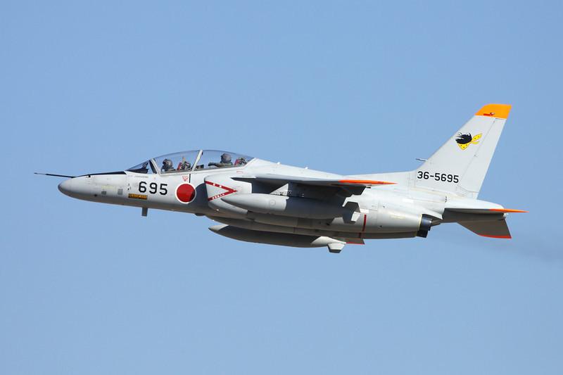 "36-5695 Kawasaki T-4 ""JASDF"" c/n 1095 Nyutabaru/RJFN 15-01-14 ""301st Hikotai"""