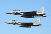 "12-8075 McDonnell-Douglas F-15DJ Eagle ""JASDF"" c/n unknown &  22-8813 Mitsubishi F-15J Eagle ""JASDF"" c/n 013 Nyutabaru/RJFN 15-01-14 ""23rd Hikotai"""