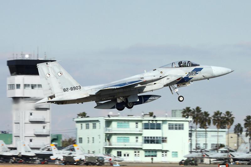 "82-8903 Mitsubishi F-15J Eagle ""JASDF"" c/n 103 Nyutabaru/RJFN 15-01-14 ""Aggressor Squadron"""
