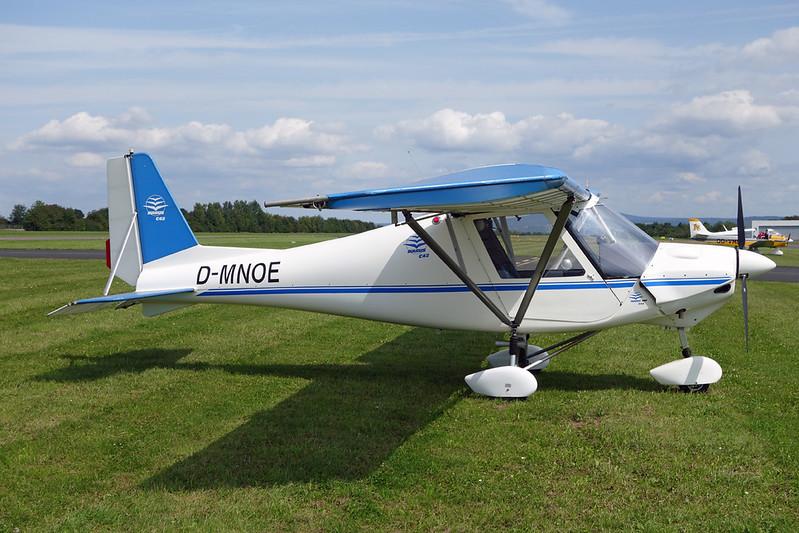 D-MNOE Ikarus Comco C-42 Cyclone c/n 9804-6078 Koblenz/EDRK 22-08-17