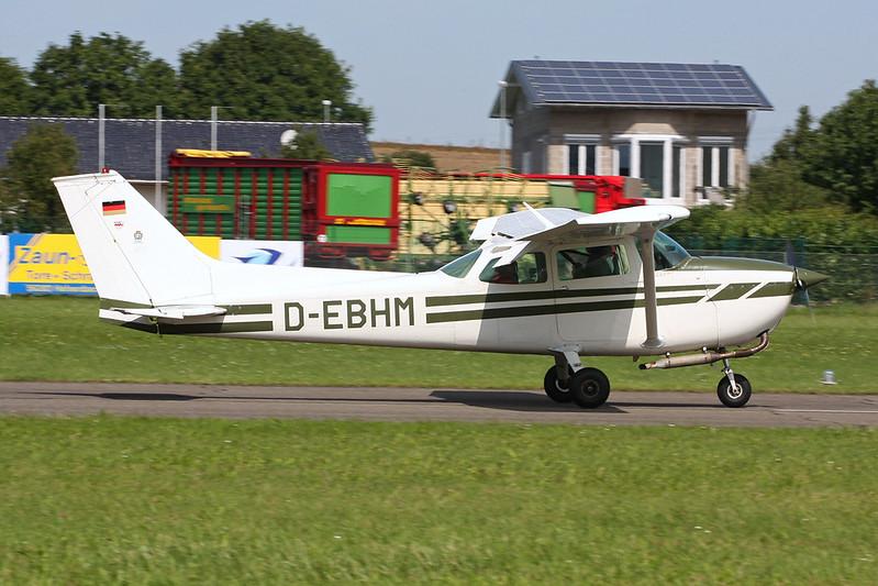 D-EBHM Cessna 172M c/n 172-61888 Koblenz/EDRK 22-08-17