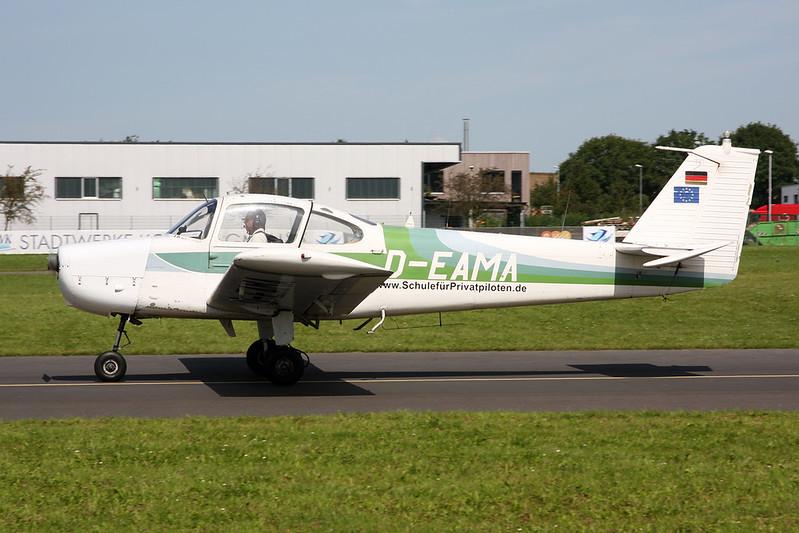 D-EAMA Fuji FA-200-160 Aero Subaru c/n 73 Koblenz/EDRK 22-08-17
