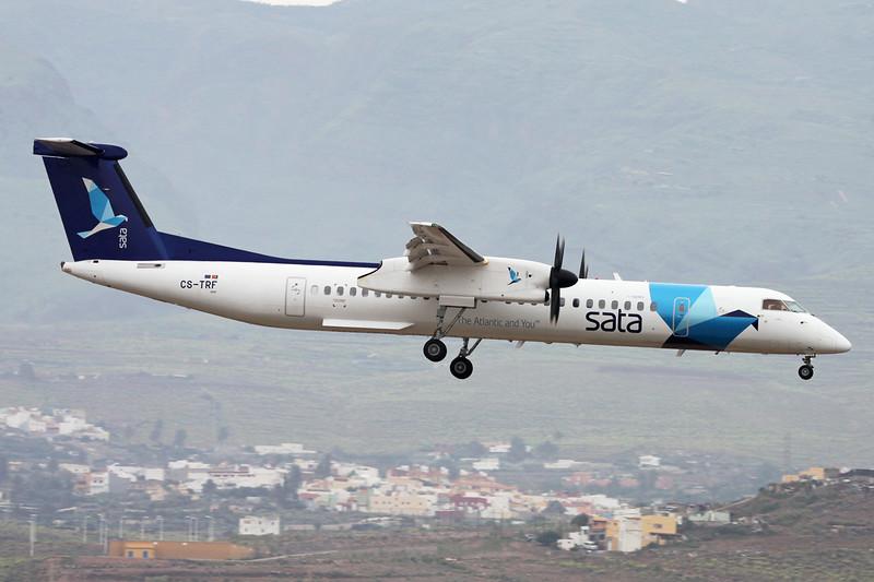 "CS-TRF de Havilland Canada DHC-8Q-402NG ""SATA Air Azores"" c/n 4297 Las Palmas/GCLP/LPA 02-02-16"