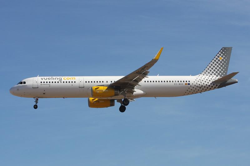 EC-MHS Airbus A321-231 c/n 6740 Las Palmas/GCLP/LPA 03-02-16