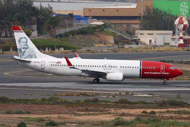 """EI-FHO Boeing 737-86N c/n 35647 Las Palmas/GCLP/LPA 02-02-16 """"Henrik Ibsen"""""""