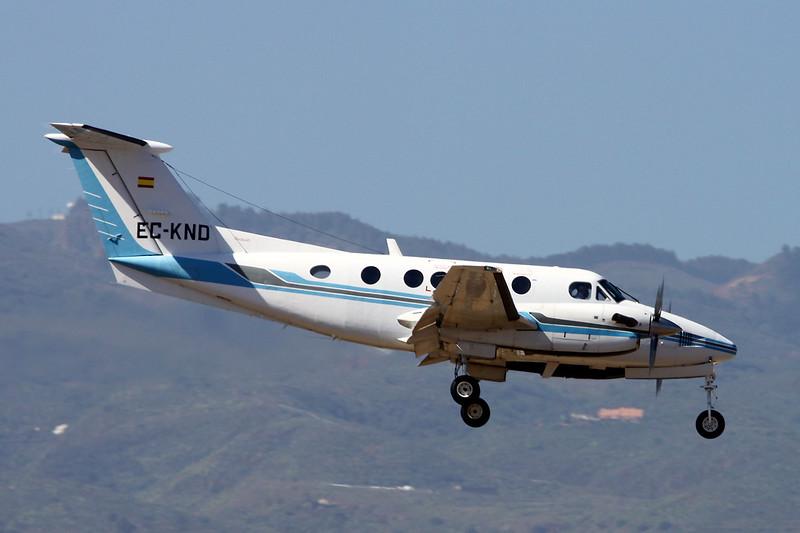 EC-KND Beech B200 Super King Air c/n BB-1564 Las Palmas/GCLP/LPA 03-02-16