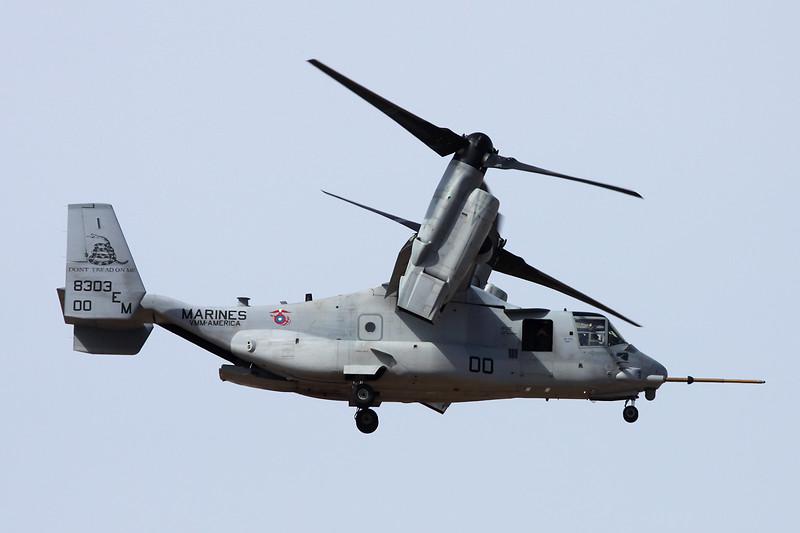 "168303 (EM-00) Bell-Boeing MV-22B Osprey ""United States Marine Corps"" c/n D0220 Las Palmas/GCLP/LPA 04-02-16"