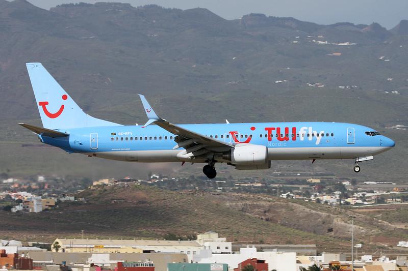 "SE-RFV Boeing 737-86N ""TUIfly Nordic"" c/n 32669 Las Palmas/GCLP/LPA 03-02-16"