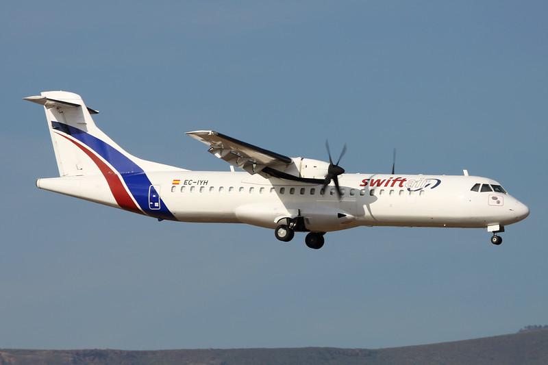 "EC-IYH Aerospatiale ATR-72-202 ""Swiftair"" c/n 330 Las Palmas/GCLP/LPA 03-02-16"