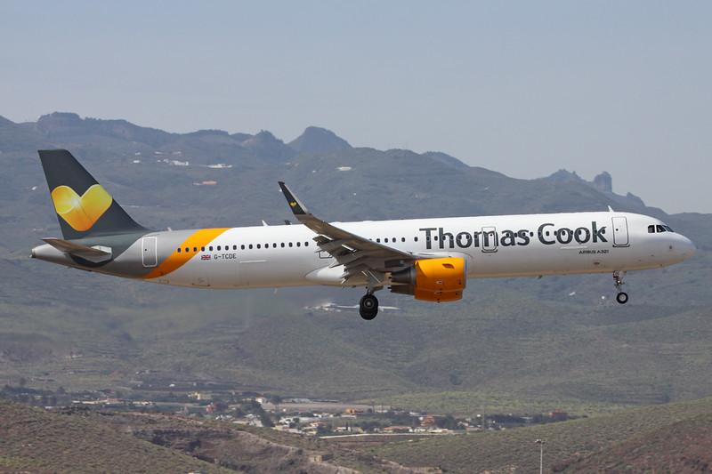 G-TCDE Airbus A321-211 c/n 6056 Las Palmas/GCLP/LPA 04-02-16