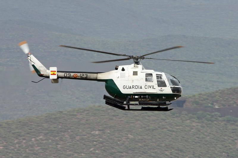 "HU.15-31 Bolkow Bo.105CB-4 ""Guardia Civil"" c/n S-4.473 Las Palmas/GCLP/LPA 02-02-16"