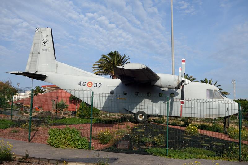 T.12B-54 (46-37) CASA 212-100 c/n 98 Las Palmas/GCLP/LPA 04-02-16