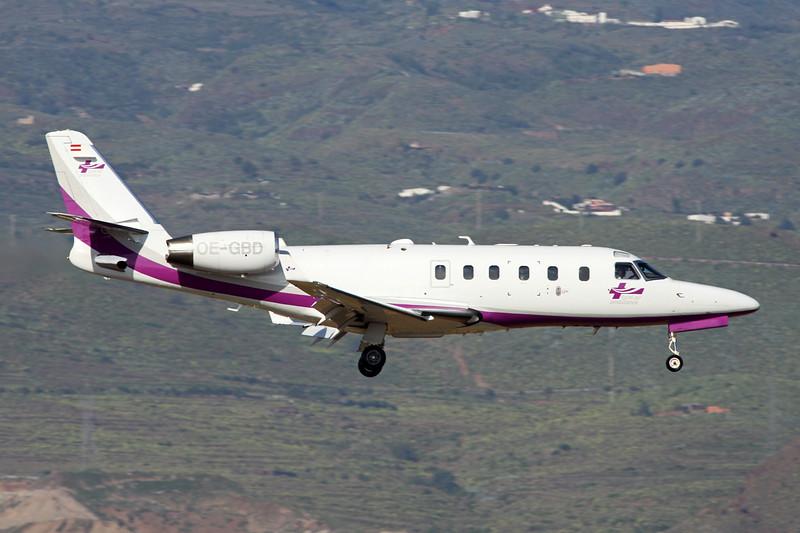 OE-GBD IAI Astra 1125 SPX c/n 133 Las Palmas/GCLP/LPA 05-02-16