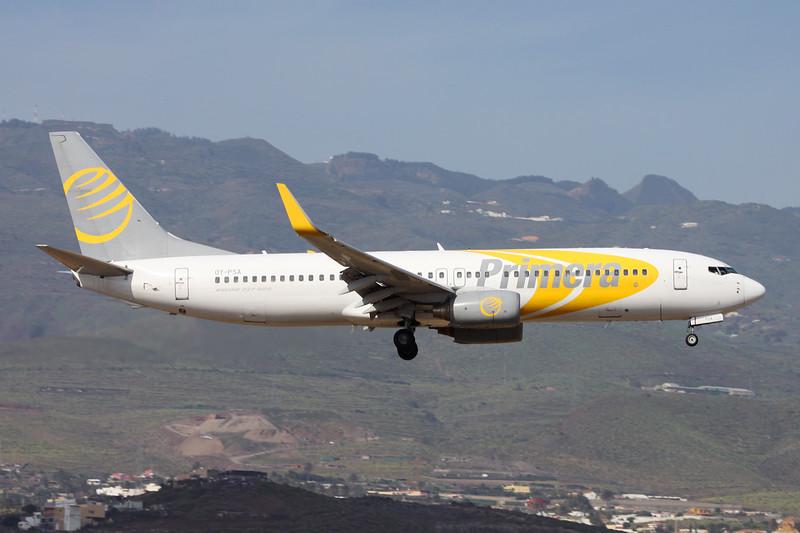 "OY-PSA Boeing 737-8Q8 ""Primera Air Scandinavia"" c/n 30688 Las Palmas/GCLP/LPA 03-02-16"