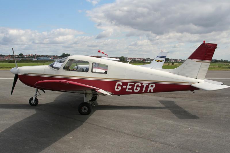 G-EGTR Piper PA-28-161 Cadet c/n 2841281 Le Touquet/LFAT/LTQ 09-09-07