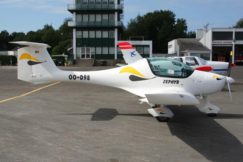 OO-D98 ATEC Zephyr 2000C c/n Z490102S Le Touquet/LFAT/LTQ 09-09-07