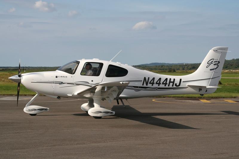 N444HJ Cirrus Design SR-22GTS G3 c/n 2601 Le Touquet/LFAT/LTQ 09-09-07