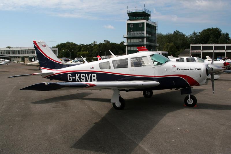 G-KSVB Piper PA-24-260 Comanche B c/n 24-4657 Le Touquet/LFAT/LTQ 09-09-07