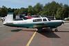 OO-URA Mooney M.20M c/n 27-0003 Le Touquet/LFAT/LTQ 09-09-07