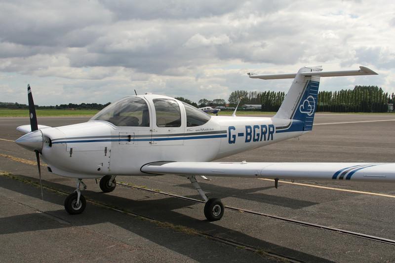 G-BGRR Piper PA-38-112 Tomahawk c/n 38-78A0336 Le Touquet/LFAT/LTQ 09-09-07