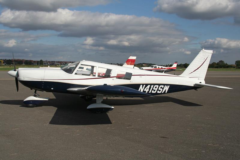 N419SW Piper PA-32-300 Cherokee Six c/n 32-40284 Le Touquet/LFAT/LTQ 09-09-07