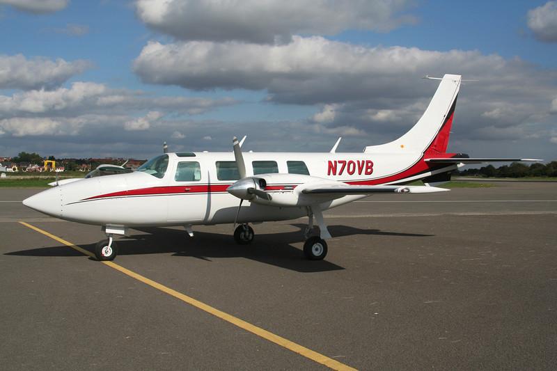 N70VB Piper PA-60-600 Aerostar c/n 60-0446-150 Le Touquet/LFAT/LTQ 09-09-07