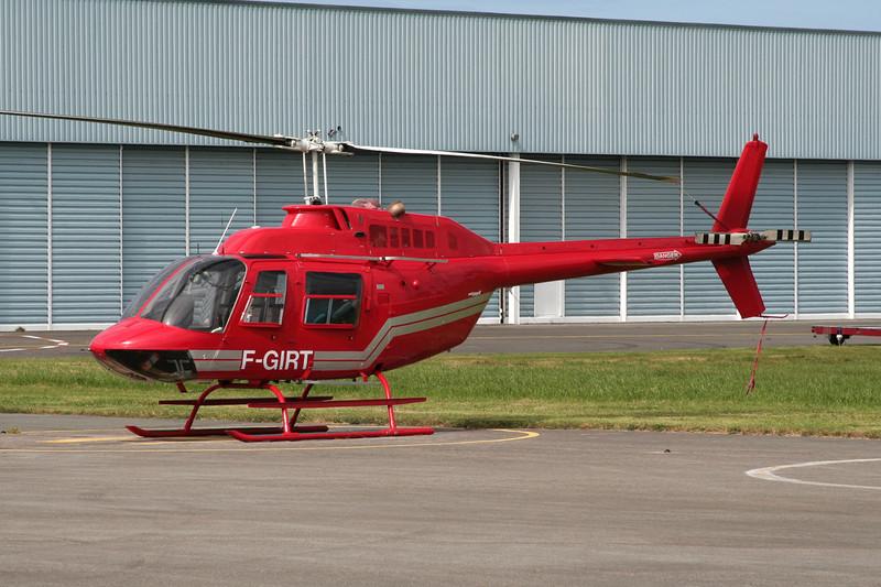 F-GIRT Bell Helicopters 206B Jet Ranger II c/n 1924 Le Touquet/LFAT/LTQ 09-09-07