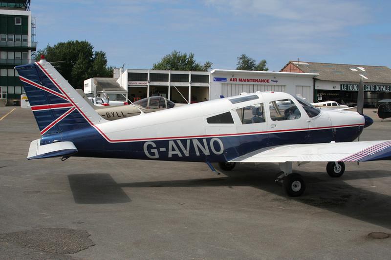 G-AVNO Piper PA-28-180 Cherokee C c/n 28-4105 Le Touquet/LFAT/LTQ 09-09-07