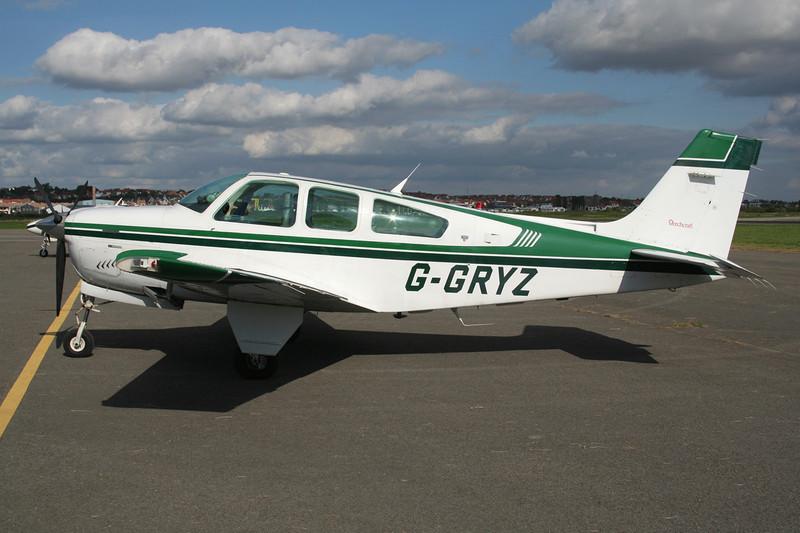 G-GRYZ Beech F33A Bonanza c/n CE-1668 Le Touquet/LFAT/LTQ 09-09-07