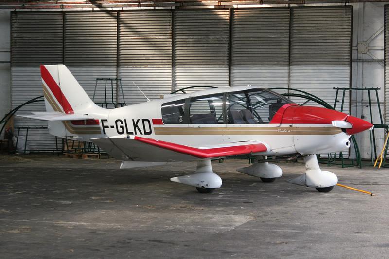 F-GLKD Robin DR.400-140B Major 80 c/n 2121 Le Touquet/LFAT/LTQ 09-09-07