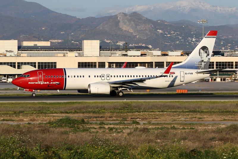 """EI-FVR Boeing 737-8JP c/n 42279 Malaga/LEMG/AGP 26-01-20 """"Karin Boye"""""""