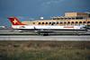 HB-IVG Fokker 100 c/n 11255 Malta-Luqa/LMML/MLA 12-01-96