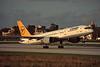D-ABNK Boeing 757-230 c/n 25438 Malta-Luqa/LMML/MLA 12-01-96 (35mm slide)