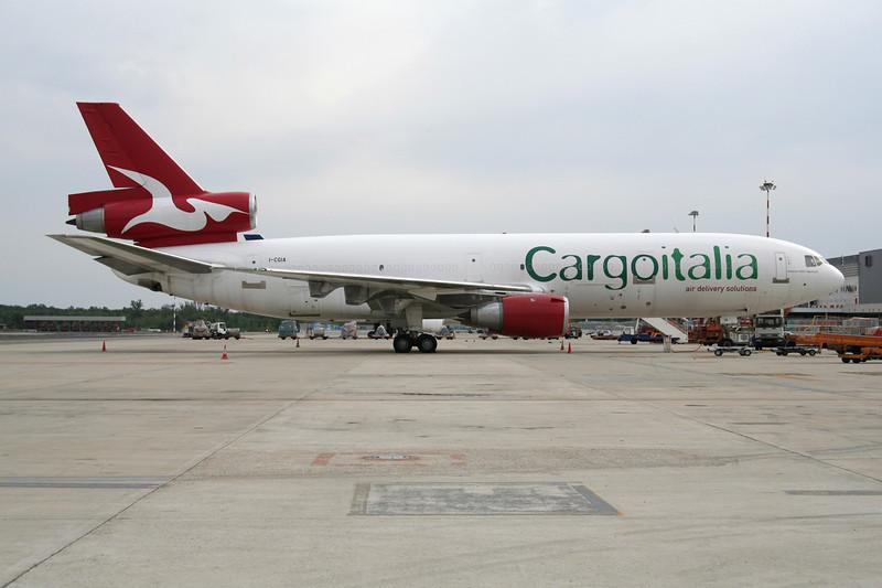 """I-CGIA Douglas DC-10-30F """"Cargoitalia"""" c/n 47843 Milan-Malpensa/LIMC/MXP 24-09-06"""