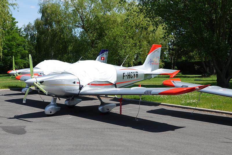 F-HCYR Sonaca S.201 c/n unknown Namur/EBNM 11-06-21