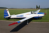 D-KABX Scheibe SF-25D Falke c/n 46124D Namur/EBNM 03-09-17