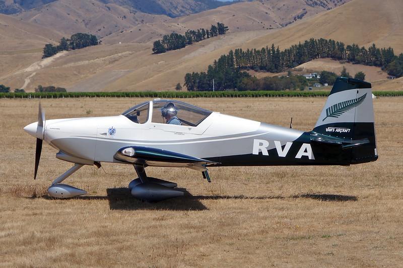 ZK-RVA Van's RV-6A c/n 25755 Blenheim-Omaka/NZOM 07-02-15