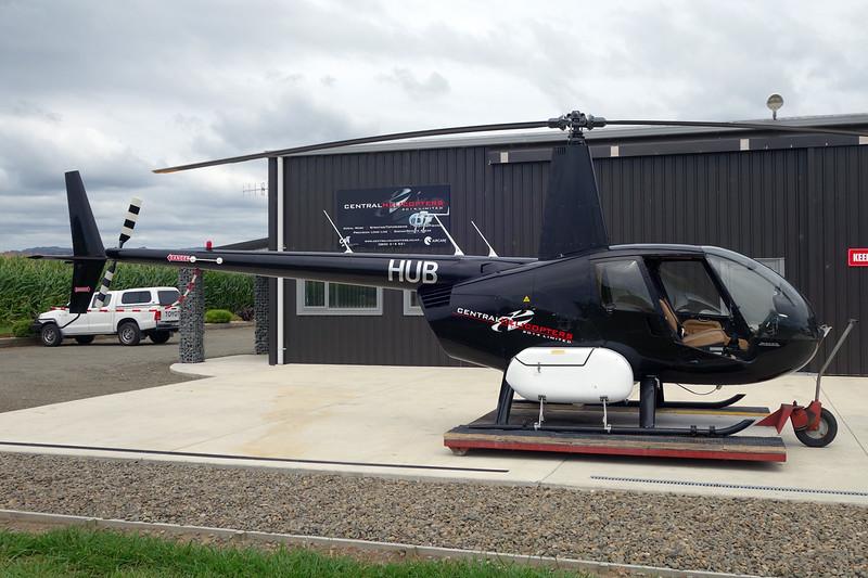ZK-HUB Robinson R44 Raven II c/n 10946 Opotiki/NZOP 04-02-15