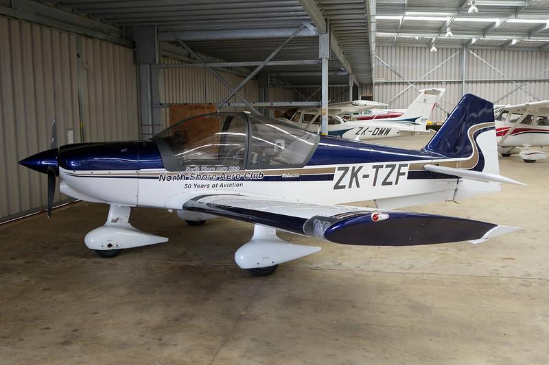 ZK-TZF Robin R.2160 Alpha Sport c/n 360 Auckland-North Shore/NZNE 06-02-15