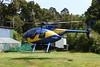 ZK-IMT Hughes 369D c/n 0153D Waitutu Lodge 08-02-15