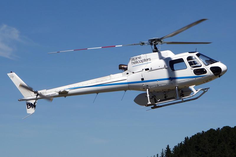 ZK-HBN Aerospatiale  AS.350B2 Ecureuil c/n 2266 Wanaka/NZWF/WKA 10-02-15