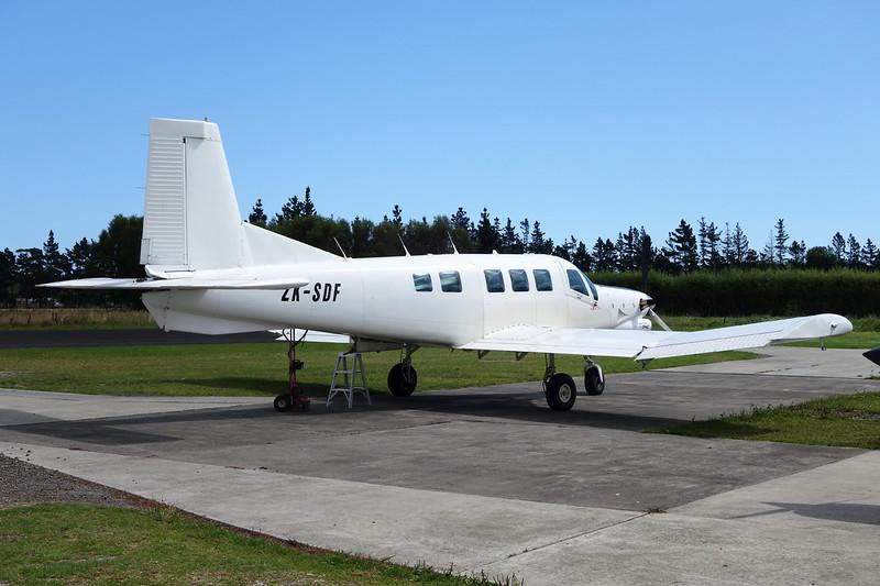 ZK-SDF Pacific Aerospace 750XL c/n 145 Parakai/NZPK 16-02-15